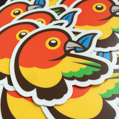 Bower stickers